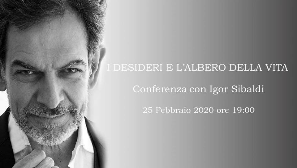 I Desideri e l'Albero della Vita – Conferenza con I. Sibaldi